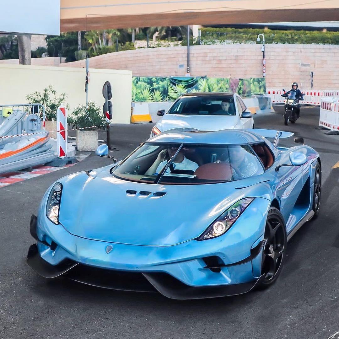 Adrian Sutil-Koenigsegg Regera-Horizon Blue-Monaco-1