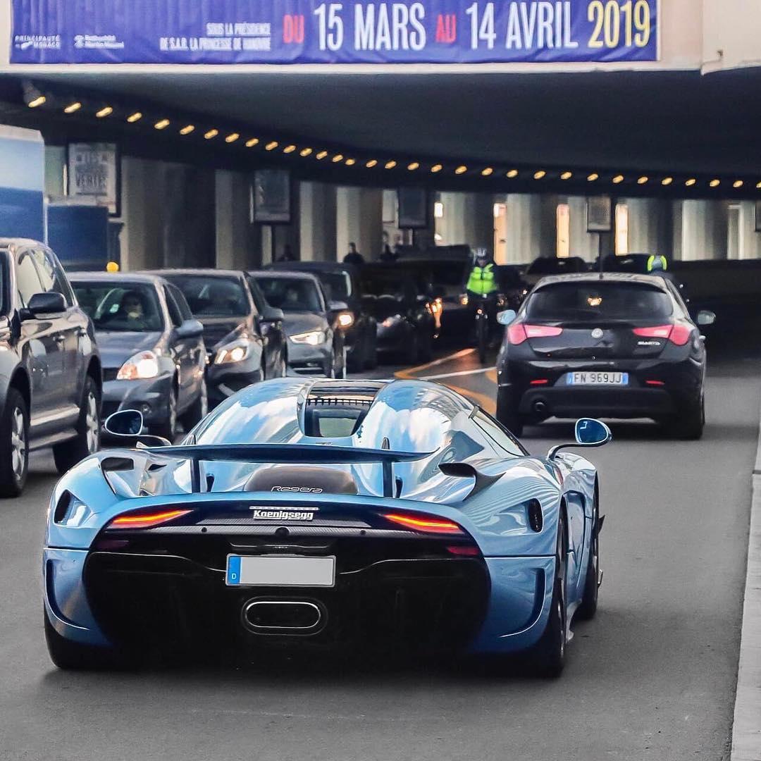 Adrian Sutil-Koenigsegg Regera-Horizon Blue-Monaco-2