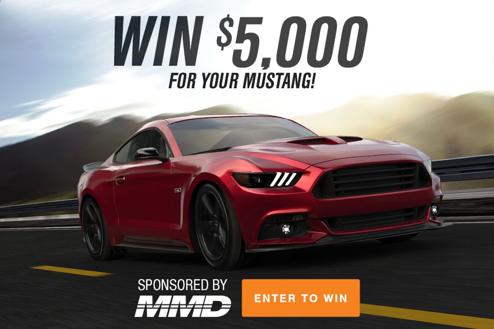 5 000 Free Giveaway For Ford Mustang And Dodge Challenger Owners