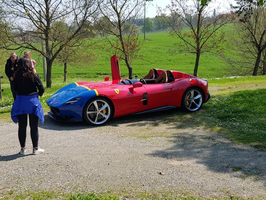 Charles Leclerc-Ferrari Monza SP2-1