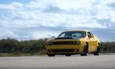 Dodge Demon-top-speed-run