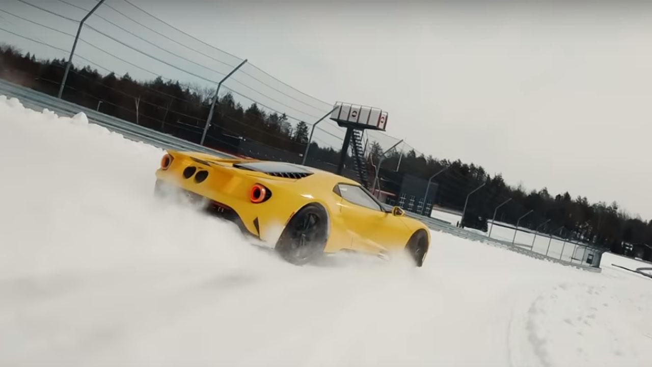 Ford GT Snow Drift Boy