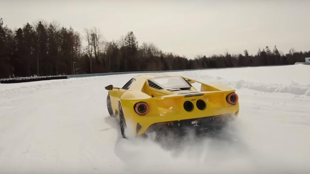 Ford GT Snow Drift Boy