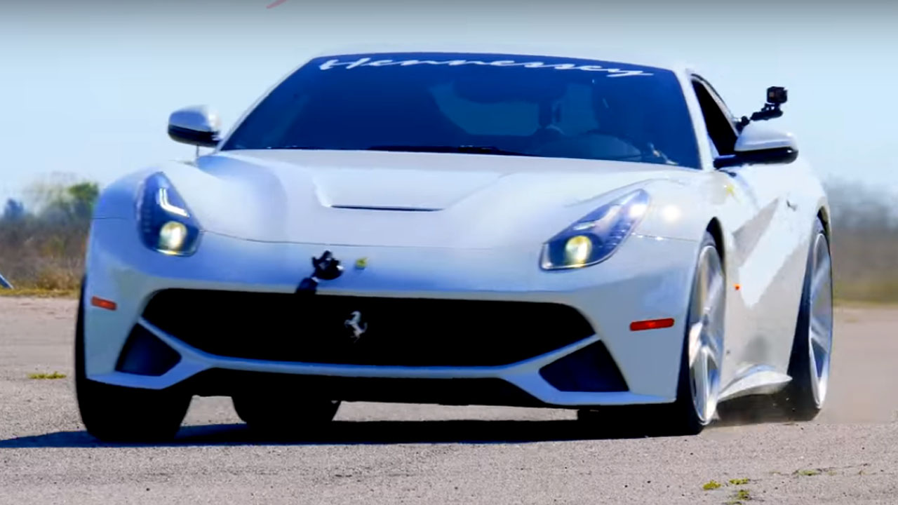 Hennessey Releases Teaser Video Of 800 Hp Hpe800 Ferrari F12 Berlinetta