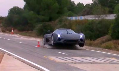 Koenigsegg Regera-crash test