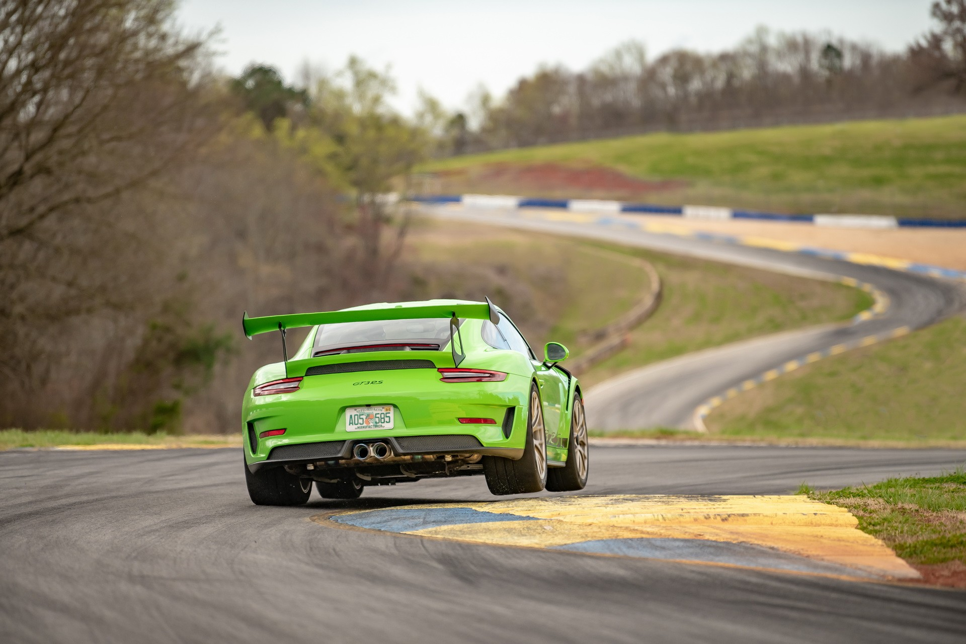 Porsche 911 GT3 RS Road Atlanta Record