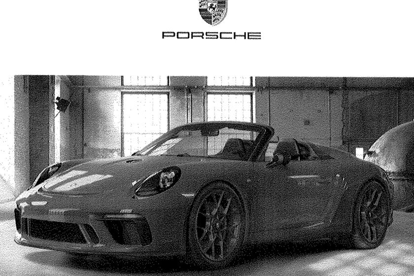 Porsche 911 Speedster-New York Auto Show-invite