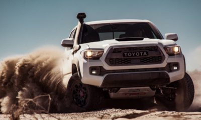 Toyota Tacoma TRD Pro-off-road tires
