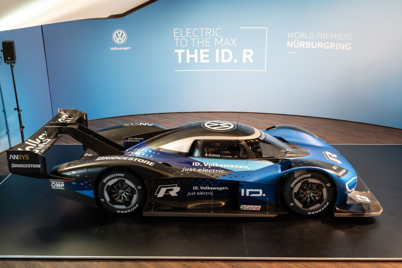 Volkswagen ID.R electric car-Nurburgring-3