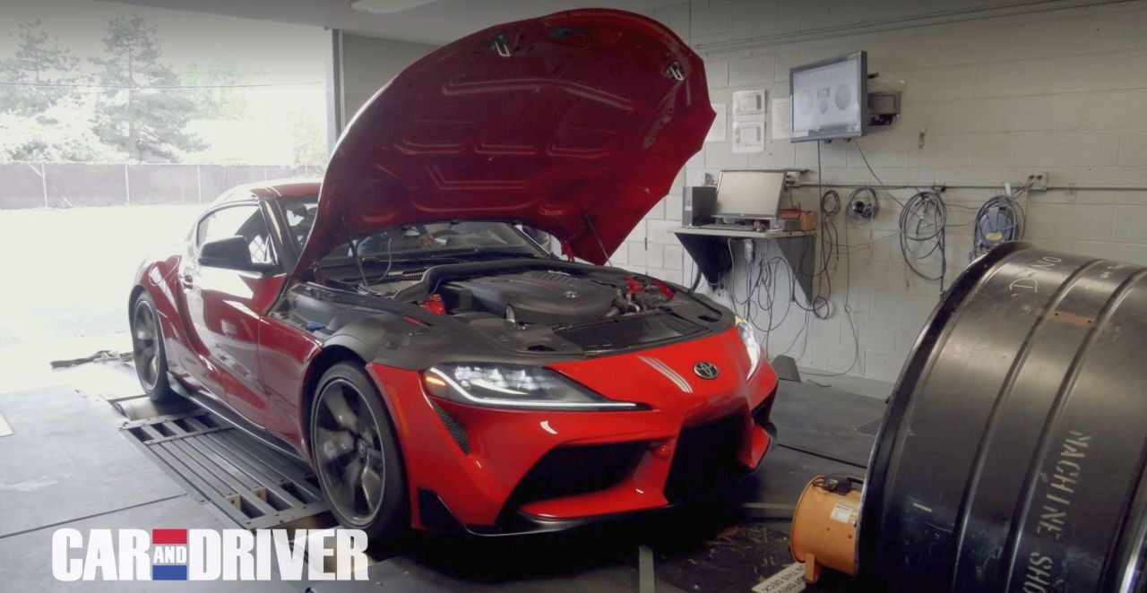 2020 Toyota GR Supra MkV-Dyno