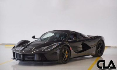 Black LaFerrari Aperta-For-Sale-1