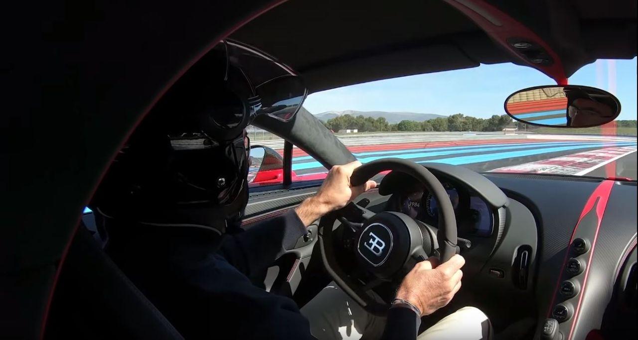 Bugatti Chiron-Circuit Paul Ricard