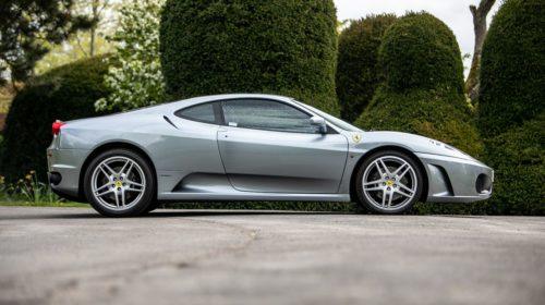 Ferrari F430-Manual-gated-shifter-Gordon Ramsay-auction-for-sale-2
