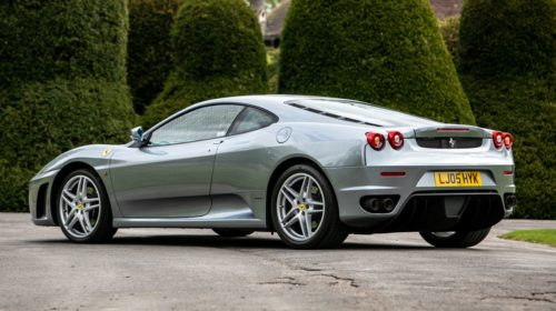Ferrari F430-Manual-gated-shifter-Gordon Ramsay-auction-for-sale-3