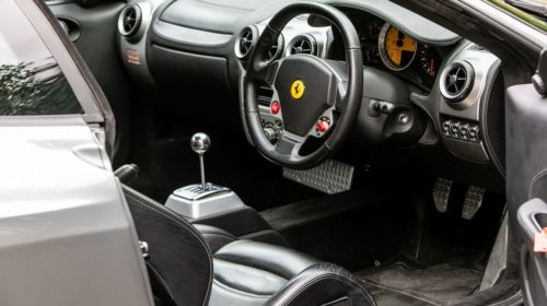 Ferrari F430-Manual-gated-shifter-Gordon Ramsay-auction-for-sale-4