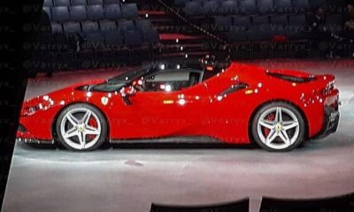 Ferrari Hybrid Supercar-Big Brother-leaked image