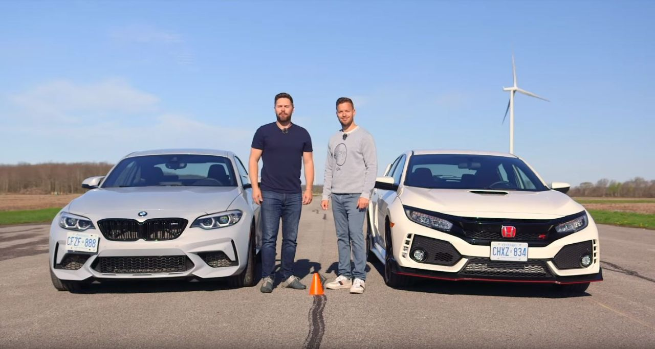 Honda Civic Type R vs BMW M2 Competition