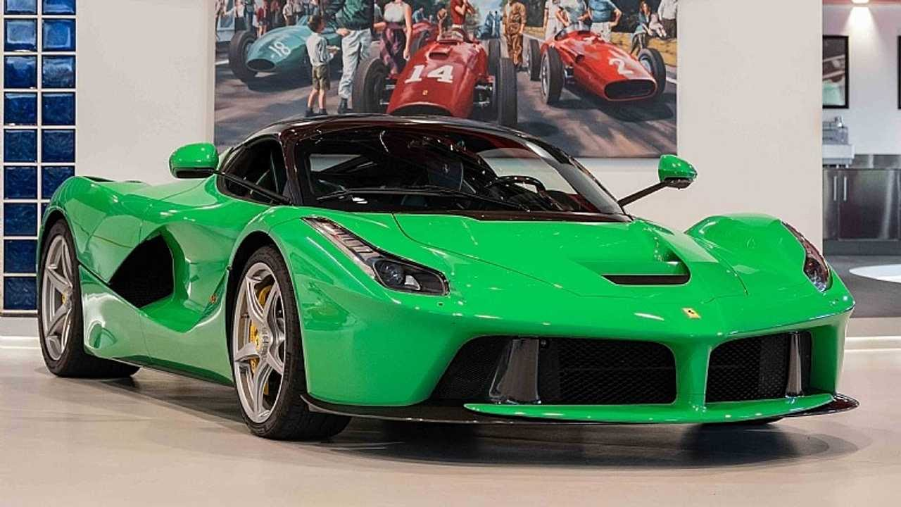 Jay Kay Signal Green LaFerrari for Sale-1