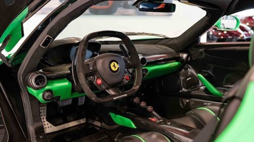 Jay Kay Signal Green LaFerrari for Sale-6