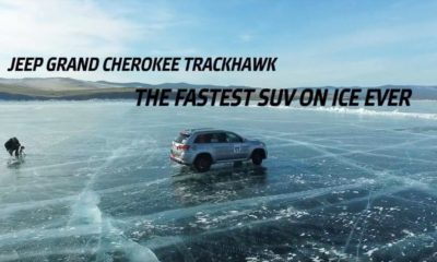 Jeep Grand Cherokee Trackhawk-fastest SUV on ICE