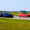 Lamborghini Aventador vs Hennessey HPE750 Corvette C7 Stingray