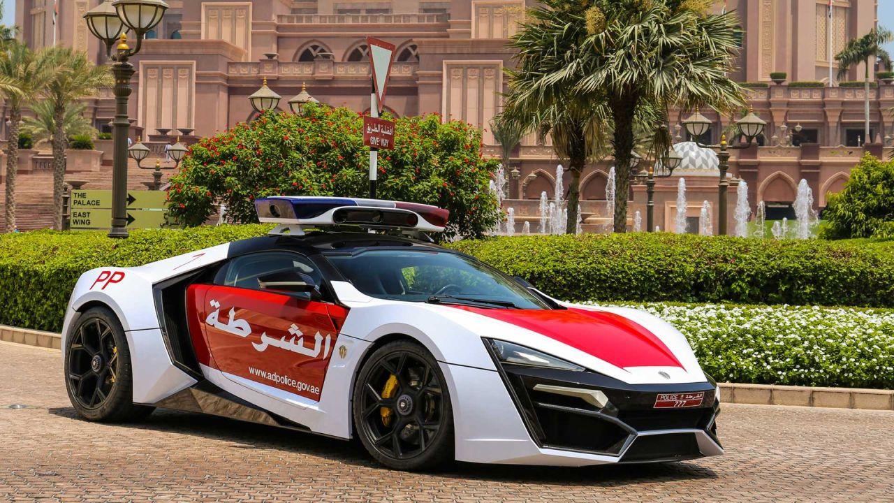 Lykan Hypersport-Abu Dhabi Police Car