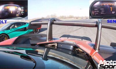 Mclaren Senna-600LT-drag race