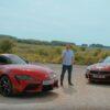 Toyota GR Supra vs BMW Z4-Top Gear