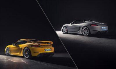 2020 Porsche 718 Cayman GT4-Spyder