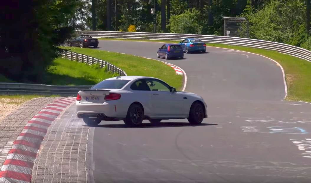BMW M2 Competition-Nurburgring-crash
