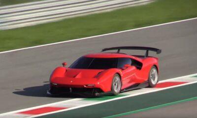 Ferrari P80-C-Monza Circuit