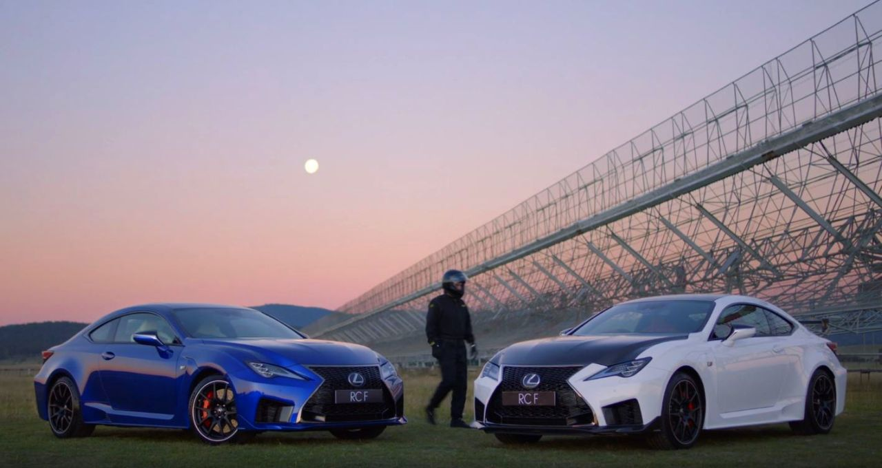 Lexus RC F Track Edition-V8 Sound