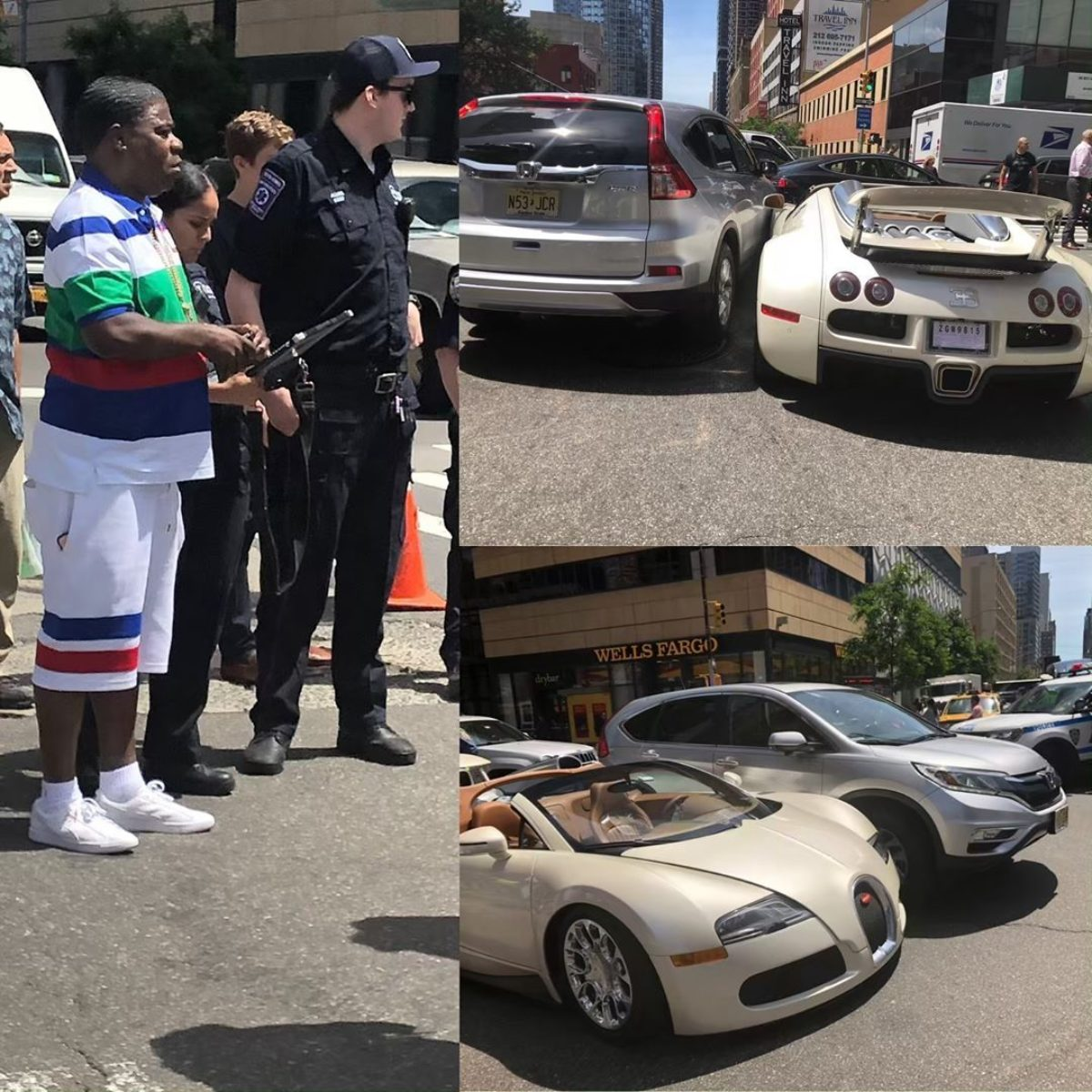 Tracy Morgan Crashes His 2 Million Bugatti Veyron Grand Sport The Supercar Blog