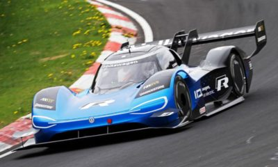 Volkswagen ID. R electric race car-Nurburgring EV lap record-3