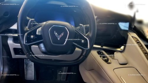 2020 Chevrolet Corvette C8-interior-dashboard-1