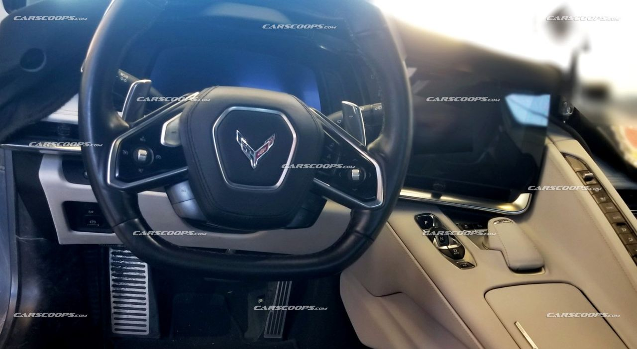 Leaked Here Is The 2020 Chevrolet Corvette C8 Dashboard And