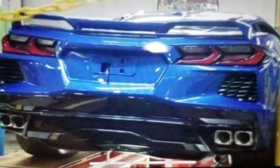 2020 Chevrolet Corvette C8-mid-engined-rear-leaked image