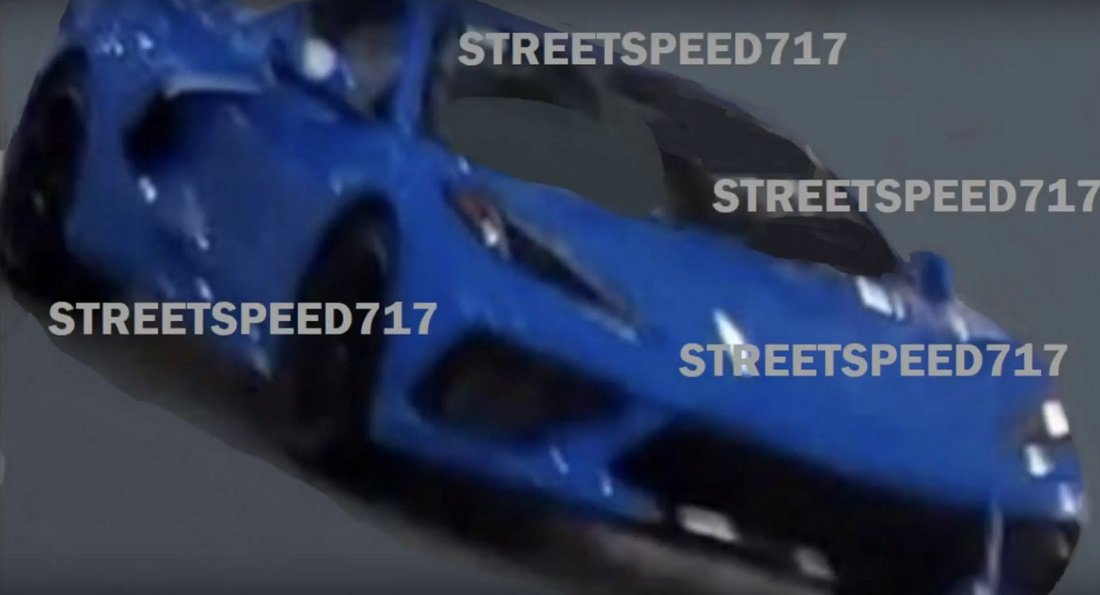 Corvette C8-leaked image
