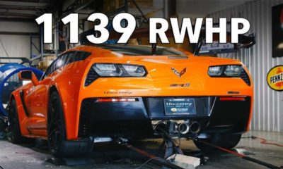 Hennessey Corvette ZR1-HPE1200-dyno