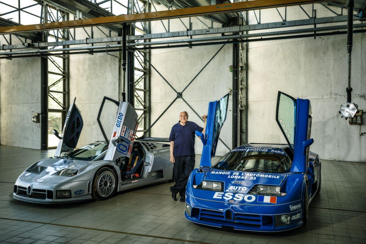 Romano Artioli-Bugatti EB110-3