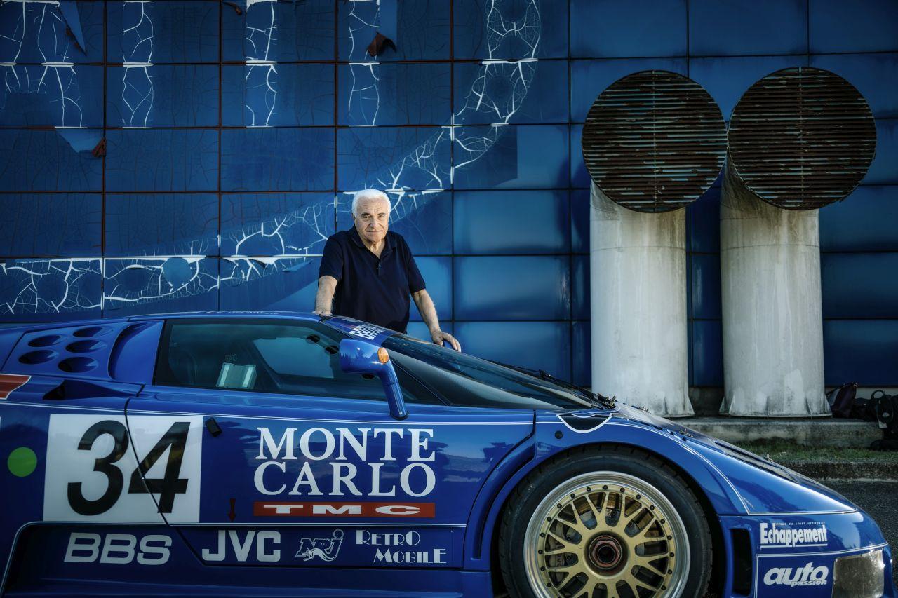 Romano Artioli-Bugatti EB110-5