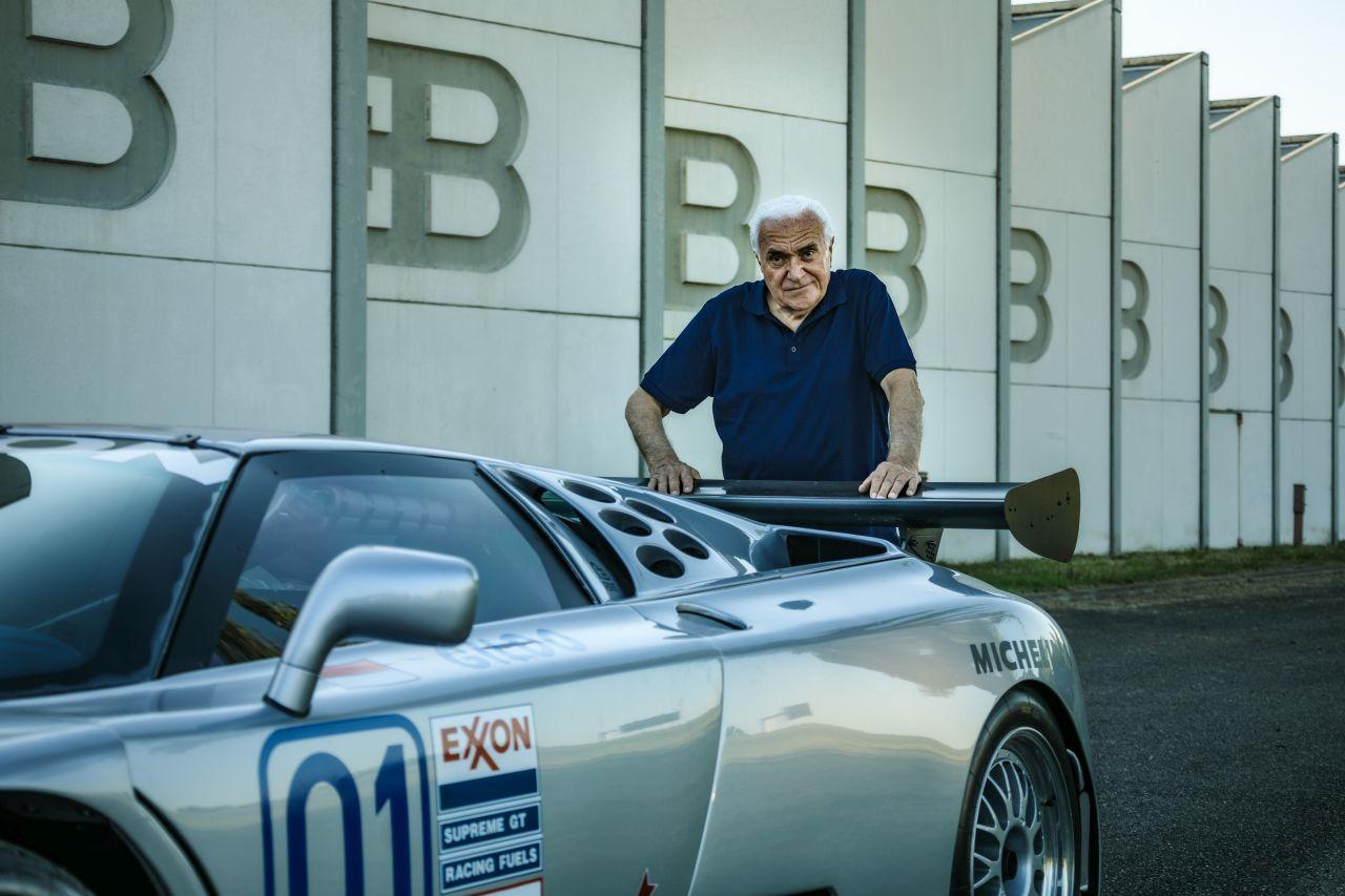 Romano Artioli-Bugatti EB110-6