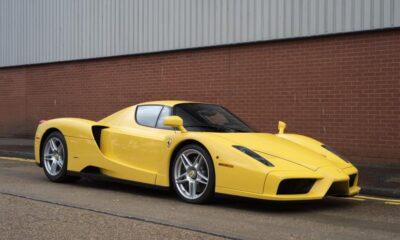 Yellow Ferrari Enzo-for-sale-London-1