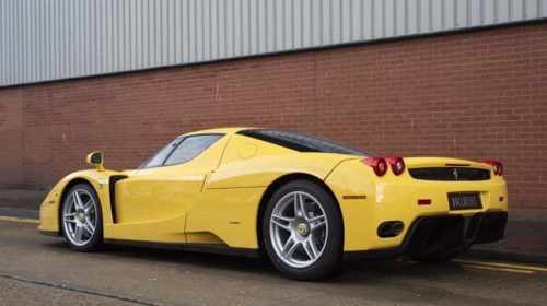 Yellow Ferrari Enzo-for-sale-London-2