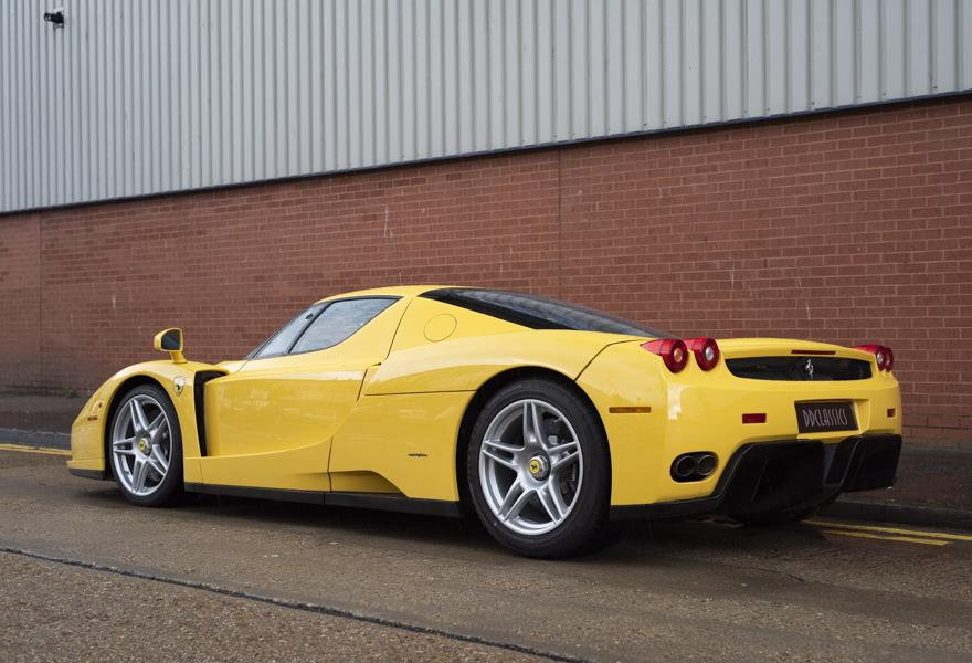 Yellow Ferrari Enzo Pops Up For Sale In London The Supercar Blog