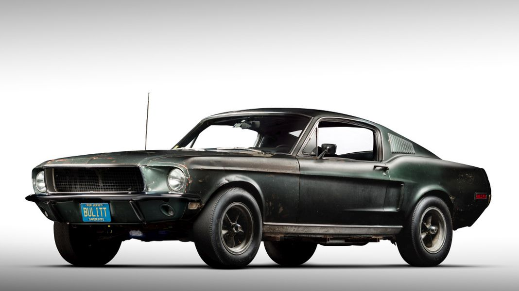 1968 Bullitt Mustang-Mecum-Monterey-2019-1