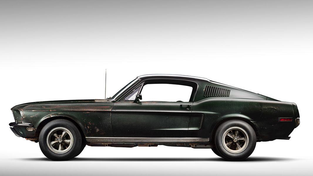 1968 Bullitt Mustang-Mecum-Monterey-2019-2