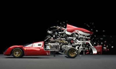 Ferrari exploded view