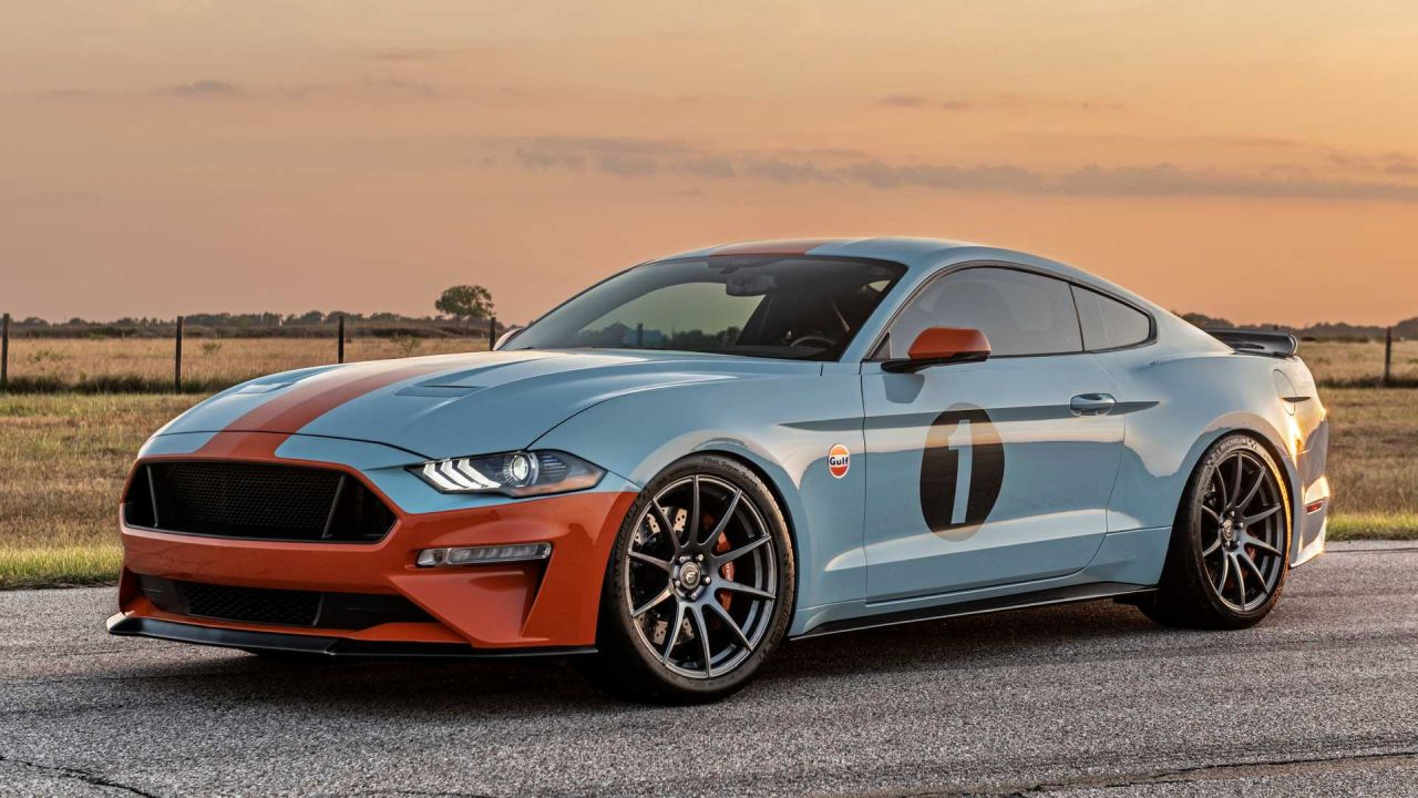 Ford Mustang GT Gulf Heritage Edition-1