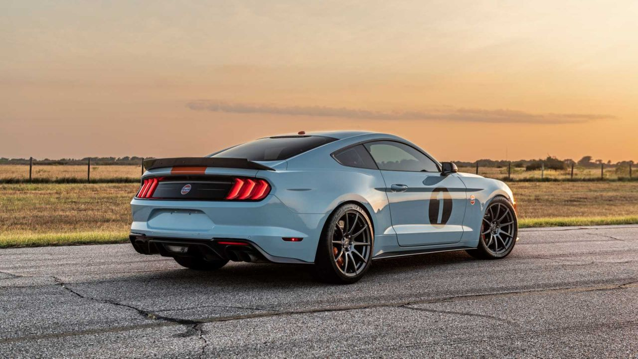 Ford Mustang GT Gulf Heritage Edition-2
